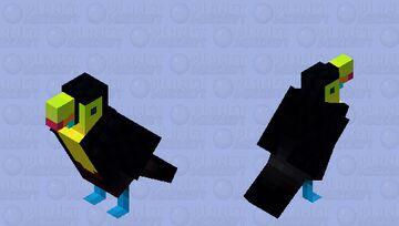A keel-billed toucan! [HD] Minecraft Mob Skin