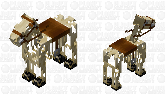 Skeleton horse Minecraft Skin