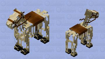 Skeleton horse Minecraft Mob Skin