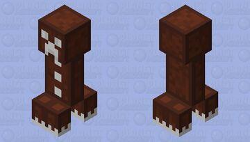 Gingerbread Creeper Minecraft Mob Skin
