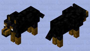 German Dog (realistic texture) Minecraft Mob Skin