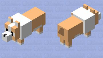 Corgi! Minecraft Mob Skin