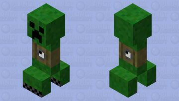 Time Bomb Creeper Minecraft Mob Skin