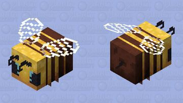 Mom, look. A bee!! || [HD] Minecraft Mob Skin