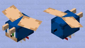 Sonic the Nightmare Bee Minecraft Mob Skin