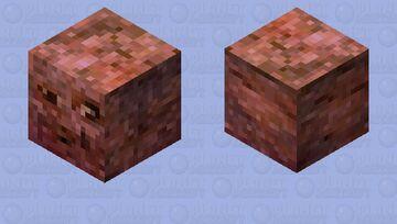 The Meatball Man Minecraft Mob Skin