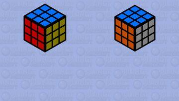 Rubik's Cube Minecraft Mob Skin