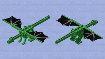 Totally did not just noobishly thwack on a load of the turtle shell texture Minecraft Mob Skin