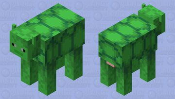 Turtle-cow- or is it a cow-turtle?- (or a cowturd?) Minecraft Mob Skin