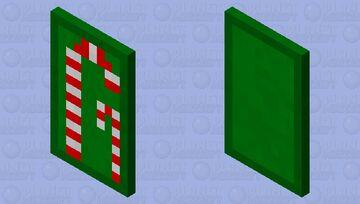 Candy cane cape Minecraft Mob Skin