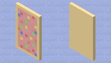 Pop Tart Cap ~Octo-Violet Minecraft Mob Skin