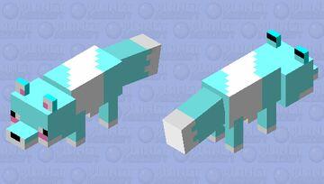 Arctic Fox!!! Minecraft Mob Skin
