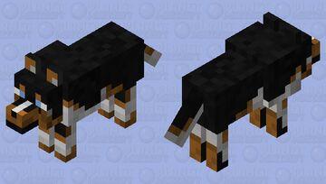 Wolf Herding Dog Minecraft Mob Skin
