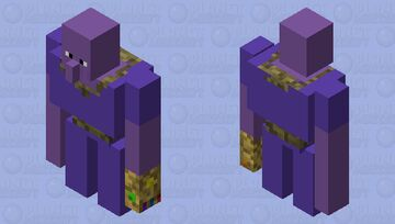 Thanos Golem Minecraft Mob Skin