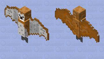 Barn Owl Minecraft Mob Skin