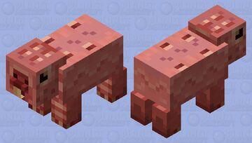Mole Rat: Fallout Minecraft Mob Skin