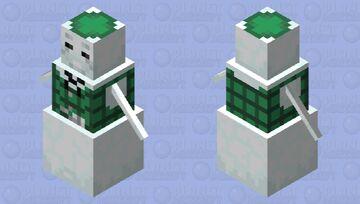 Sam the Snowman Minecraft Mob Skin