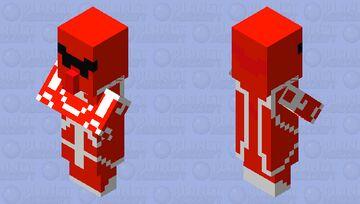 Villager Ranger Red {Element Animation} Minecraft Mob Skin