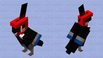 Mr. Parrotski Minecraft Mob Skin