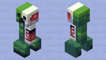 𝔸𝕟𝕒𝕥𝕠𝕞𝕪 𝕠𝕗 𝕒 ℂ𝕣𝕖𝕖𝕡𝕖𝕣 Minecraft Mob Skin