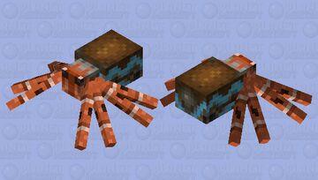 Hermit Crab Minecraft Mob Skin