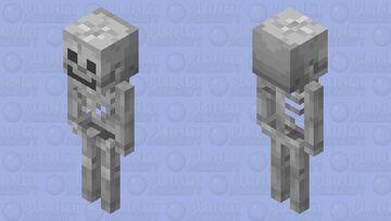 the skeleton update Minecraft Mob Skin