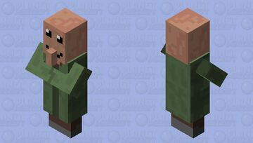 Happy villager Minecraft Mob Skin