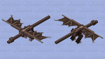Elder Dragon: Skyrim Minecraft Mob Skin