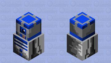 R2-D2 Snow Golem Skin Minecraft Mob Skin
