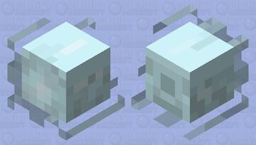 Ice Wraith: Skyrim Minecraft Mob Skin