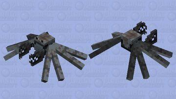 Mud Crab Minecraft Mob Skin