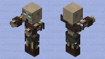 Draugr: Skyrim Minecraft Mob Skin