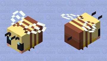 simple bee~ | LilyBlossom6 Minecraft Mob Skin