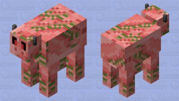 Zombie pigcow Minecraft Mob Skin