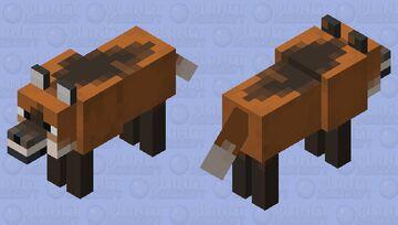 Maned Wolf Minecraft Mob Skin