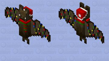 Christmas Bat | ~𝘈𝘭𝘺𝘴𝘴𝘢~ Minecraft Mob Skin