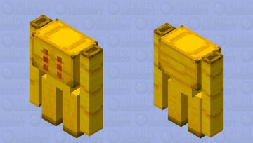 Hell Golem Minecraft Mob Skin