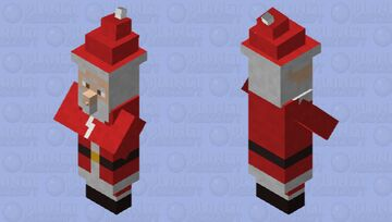 Santa Claus Minecraft Mob Skin