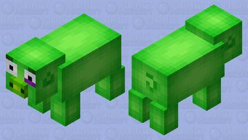 Angry Birds Pig Minecraft Mob Skin