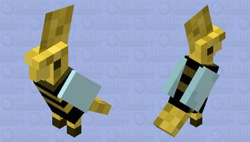 Bird Bee Minecraft Mob Skin