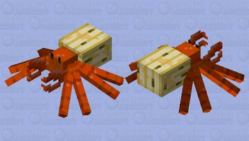 Beach Crab: Winterhaven Beasts and Baddies Minecraft Mob Skin
