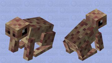 Brown Toad: Winterhaven Amiable Animals Minecraft Mob Skin