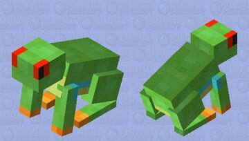 Tree Frog: Winterhaven Amiable Animals Minecraft Mob Skin