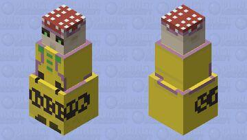 Polpo (JJBA-Vento Aureo) Minecraft Mob Skin
