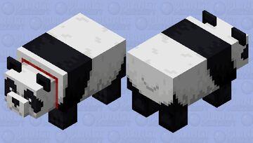 Tamed Panda Minecraft Mob Skin