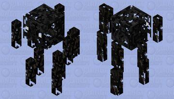 Haunted Blaze Minecraft Mob Skin