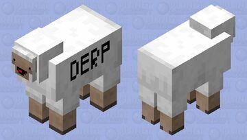 Derpy Sheep Minecraft Mob Skin