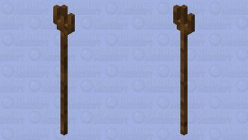 Very rushed pitchfork Minecraft Mob Skin