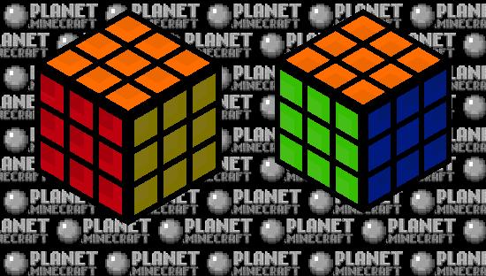 Rubiks Cube. Minecraft Skin