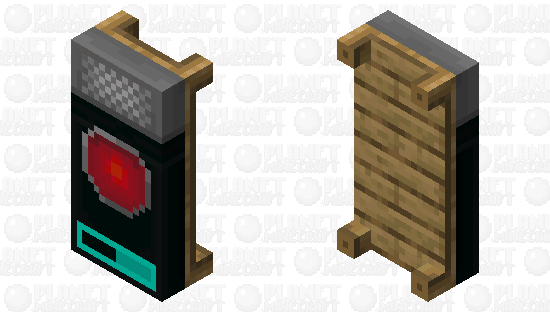 HAL-9000 Bedsheets Minecraft Skin